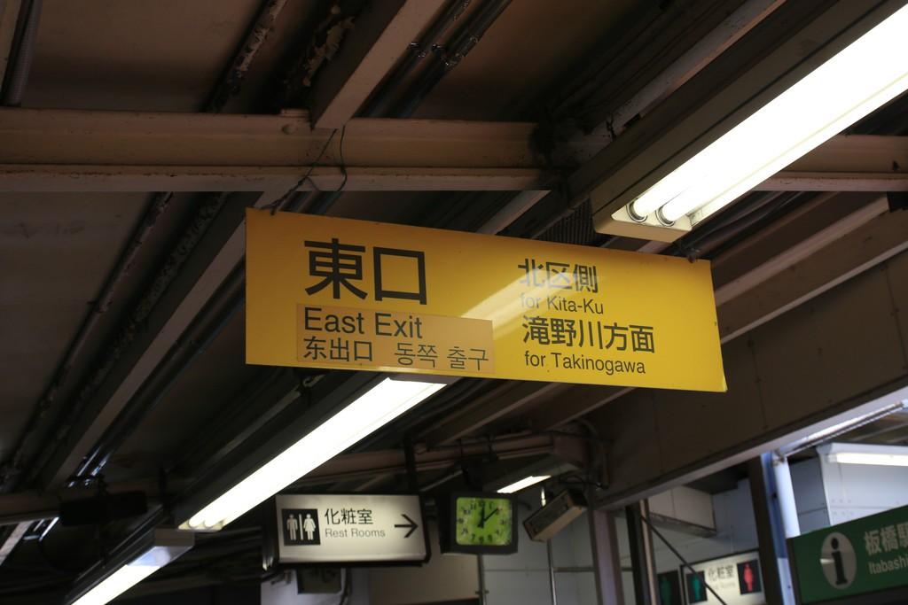 板橋駅東口
